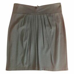 Green Viscose Skirt