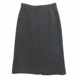 Grey Wool Skirt