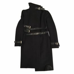 Sportmax black wool coat