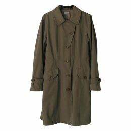 POLYAMIDE AND COTTON TRENCH COAT