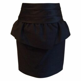 Black cocktail skirt