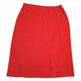 AGNES b. orange skirt