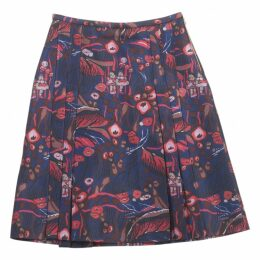 Multicolour Wool Skirt