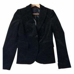 Blazer velluto nero John Richmond