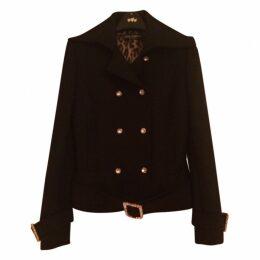 Black coat/jacket with Swarovski crystals