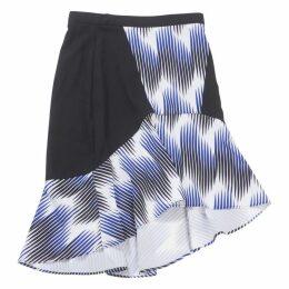 Multicolour Polyester Skirt