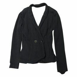T BY ALEXANDER WANG cotton stretch blazer