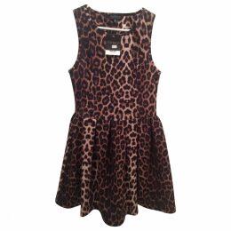 Brand new Topshop leopard print dress