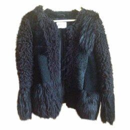 American retro fur coat