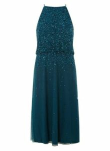 Womens **Showcase Green 'Ava-May' Fit And Flare Dress- Green, Green