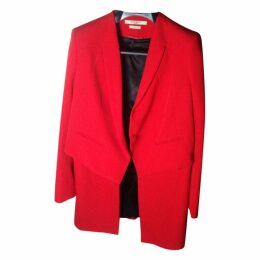 Red Givenchy suit modifiable ja.