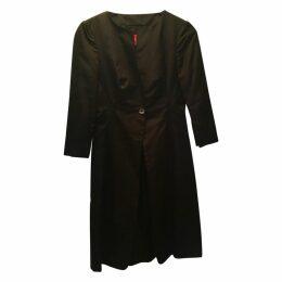Black Silk Coat