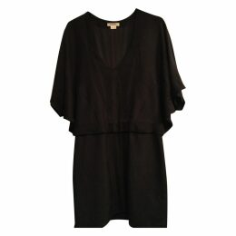 Mini black dress by Helmut Lang