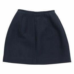 Blue Polyester Skirt