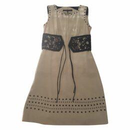 Barbara Bui silk embrodery dress