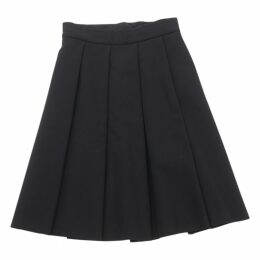 Black Polyester Skirt