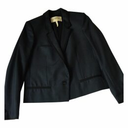 Short navy blue blazer