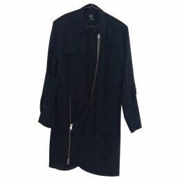 Alexander MQueen navy dress