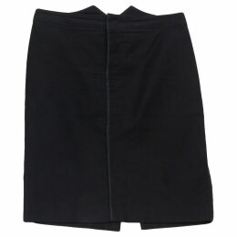 Black Cotton Skirt