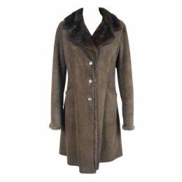 Reindeer Coat with Mink Fur