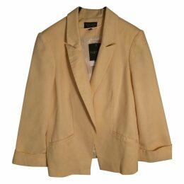 Beige blazer, size 34