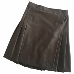 Plisse skirt college style