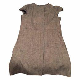 Metallic Polyester Dress