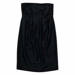 Mini dress in wool