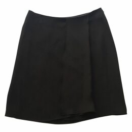 MID-LENGTH SILK SKIRT