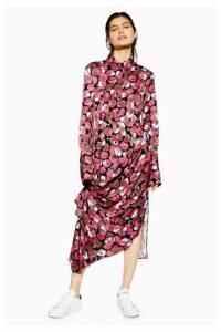 Womens **Poppy Gathered Shirt Dress By Boutique - Multi, Multi