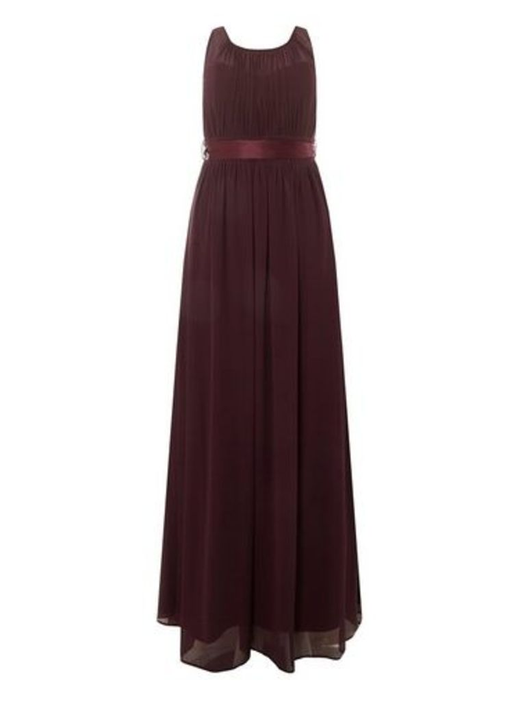 Womens **Showcase Curve Mulberry 'Natalie' Maxi Dress- Red, Red