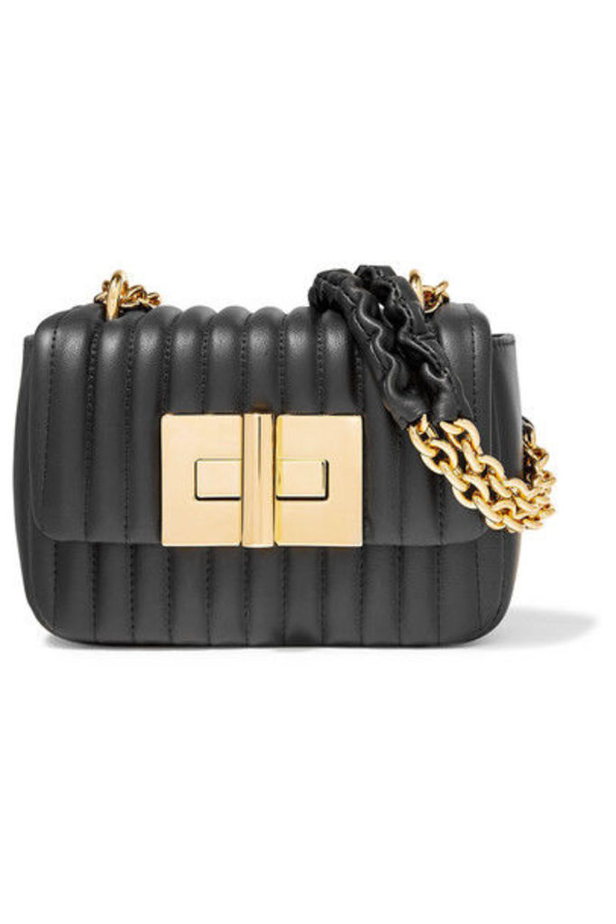 TOM FORD - Natalia Mini Quilted Leather Shoulder Bag - Black