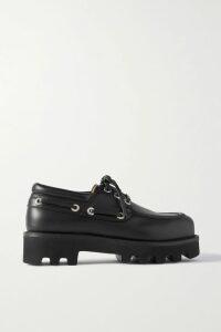 Roland Mouret - Talbot Hammered Silk-blend Blazer - Navy