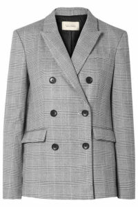Equipment - + Tabitha Simmons Hamish Oversized Prince Of Wales Checked Voile Blazer - Gray