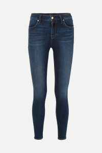 GANNI - Checked Cady Blazer - Blush