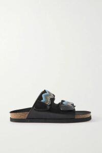 Chloé - Belted Crepe Blazer - Black