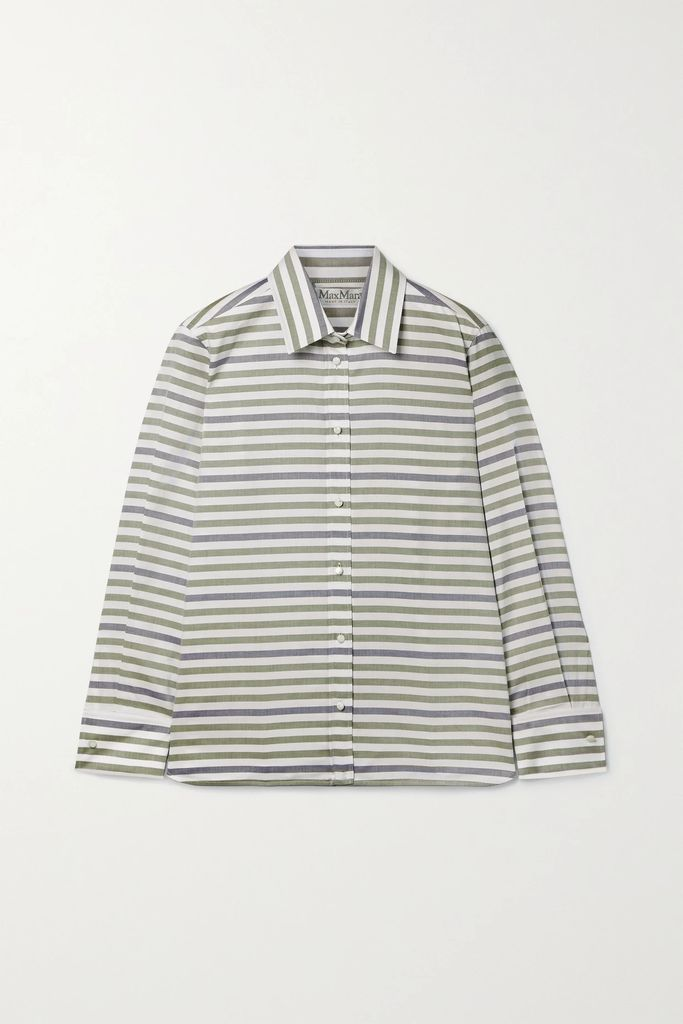 Hellessy - Sunshine One-shoulder Crocheted Cotton Top - Green