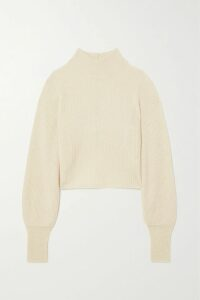 A.P.C. Atelier de Production et de Création - Caban Swinging Cropped Double-breasted Wool-blend Coat - Black