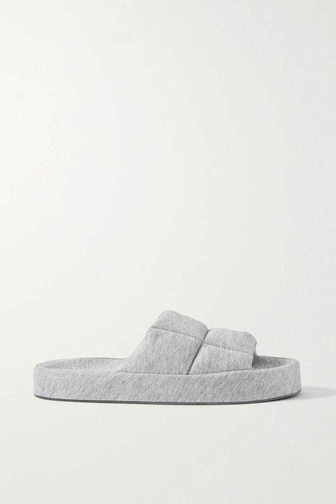 Faithfull The Brand - Esther Ruffle-trimmed Floral-print Crepe Mini Dress - Green