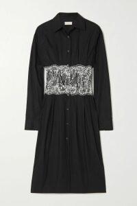 Akris - Color-block Silk Turtleneck Sweater - Black