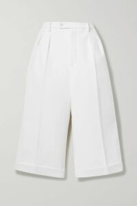 Dolce & Gabbana - Pleated Printed Silk-chiffon Gown - Black