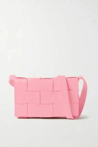 Marchesa Notte - Ombré Sequined Satin Embellished Gown - Blush