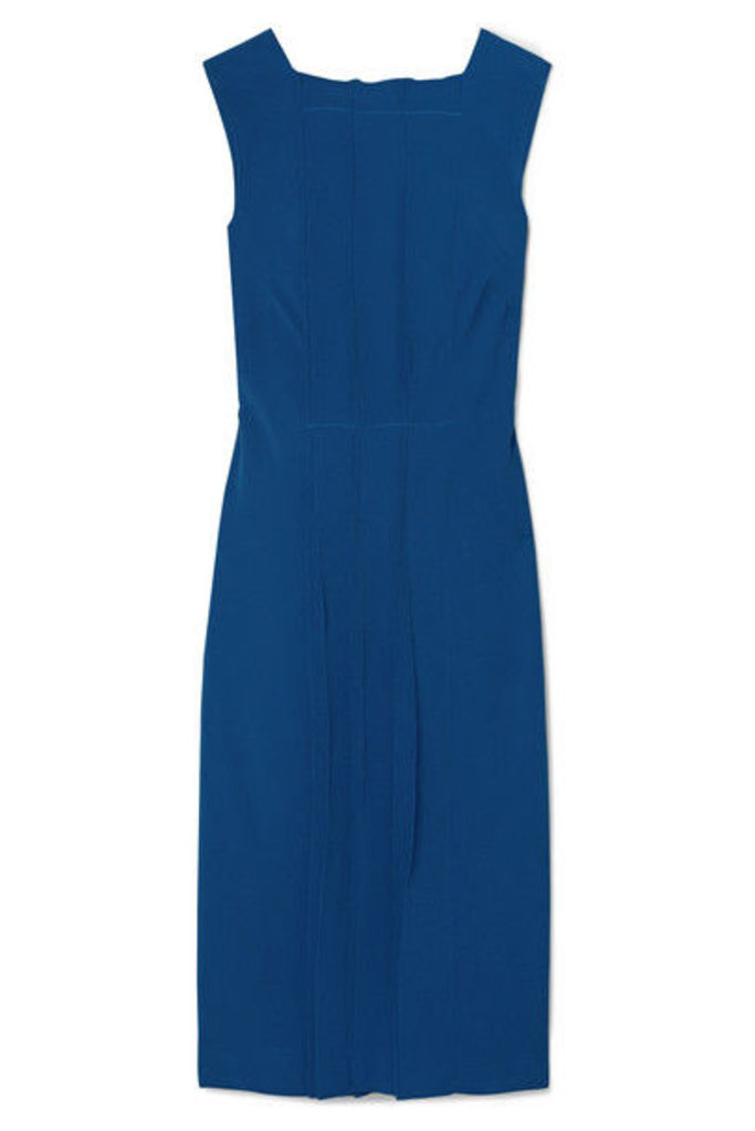Jason Wu Collection - Pintucked Cady Dress - Cobalt blue