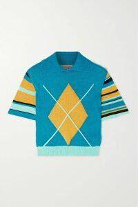 HATCH - The Slouch Crepe De Chine Mini Dress - Claret