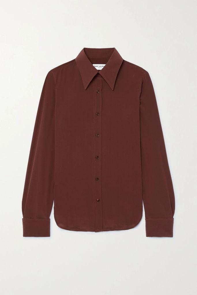 Bottega Veneta - Wool-blend Drill Skirt - Pink