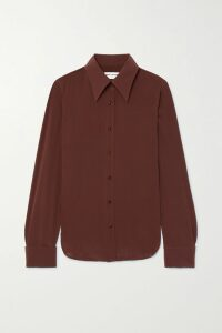 Bottega Veneta - Wool-blend Drill Skirt - Pink