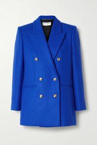 Moschino - Metallic Intarsia-knit Wool Hoodie - Black