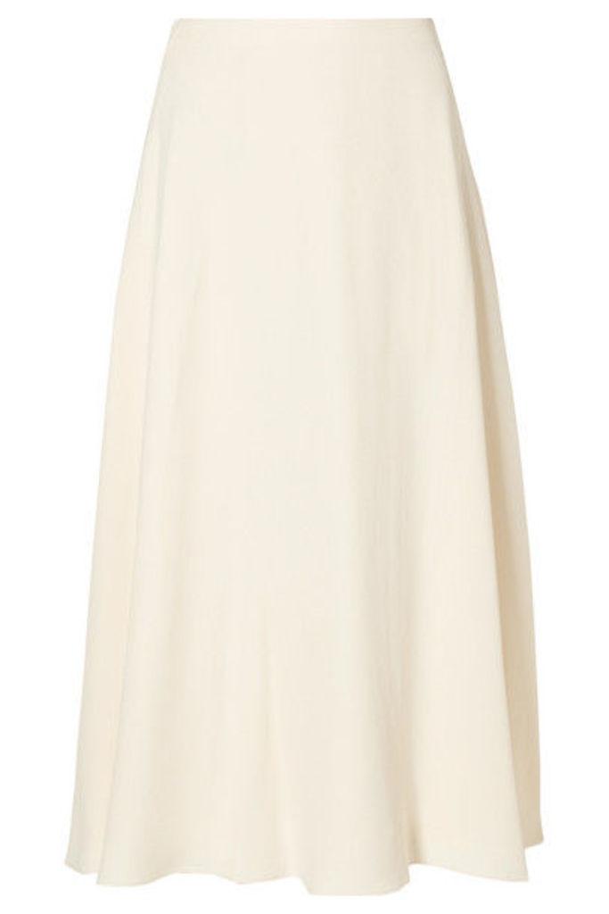 Theory - Cady Midi Skirt - Cream