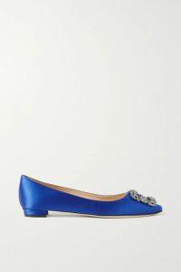 Roland Mouret - Abrams Folded Crepe Midi Skirt - Blue