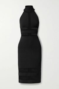 Sally LaPointe - Sequined Tulle Midi Skirt - Royal blue